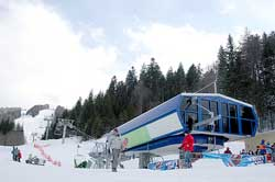 Bottom Station chairlift Predeal, Click to Open